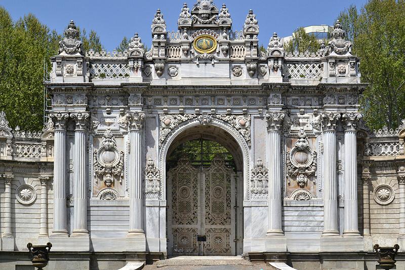 Istanbul, Beşiktaş, Dolmabahçe-Palast, Imperiales Schatzkammertor