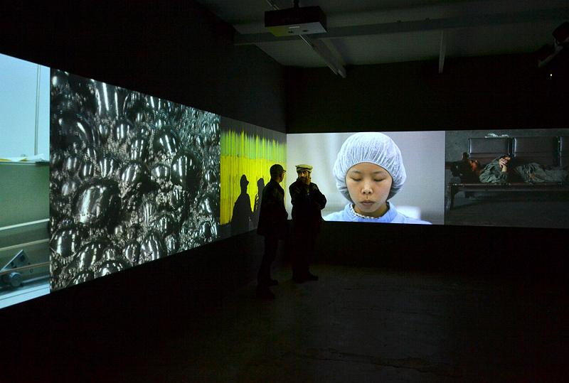 Berlin Biennale 2014, Kunst-Werke, Li Xiaofei, Assembly Line