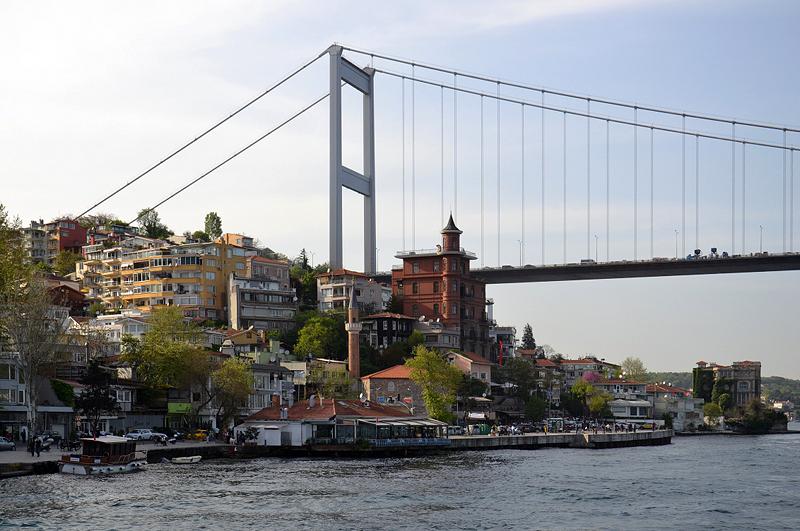 Istanbul, Fatih-Sultan-Mehmet-Brücke