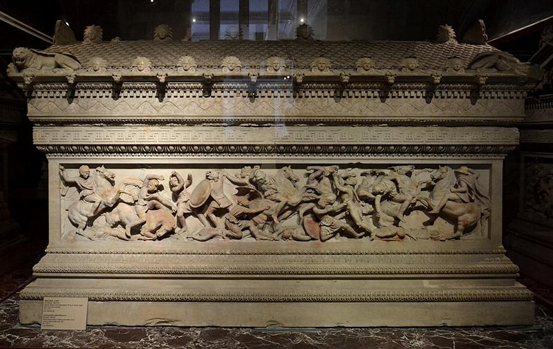 İstanbul Arkeoloji Müzesi, Istanbul Archaelogical Museum, Alexander Sarkophagus