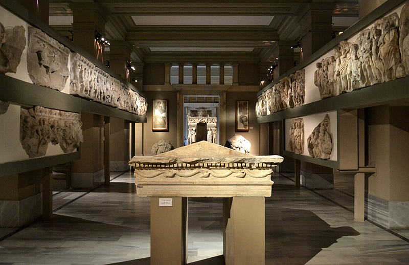 İstanbul Arkeoloji Müzesi, Istanbul Archaelogical Museum, Artemision und Lagina Hekate Temple