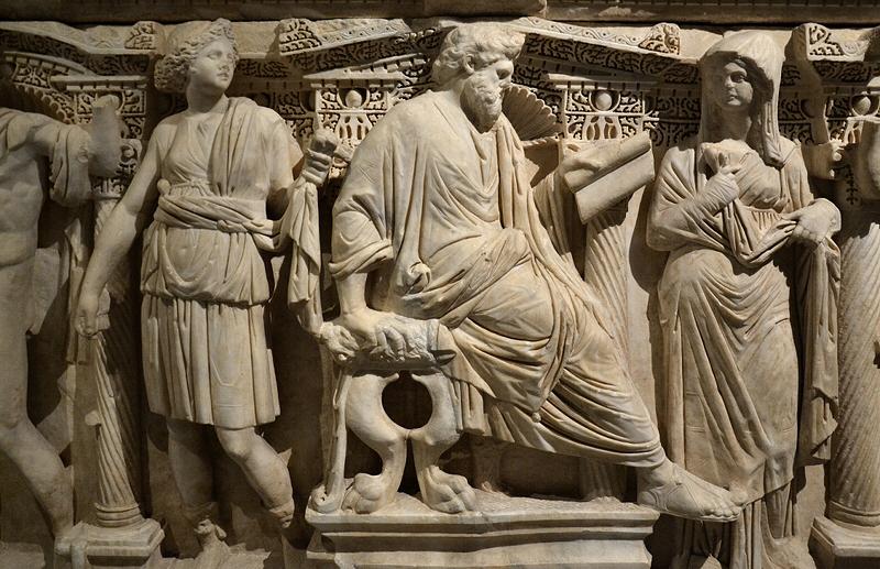 İstanbul Arkeoloji Müzesi, Istanbul Archaelogical Museum, Sidamara Sarkophagus