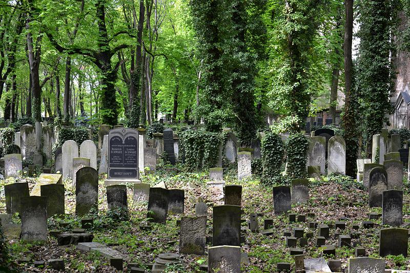 Grabsteine, Jüdischer Friedhof Schönhauser Allee, Prenzlauer Berg, Berlin