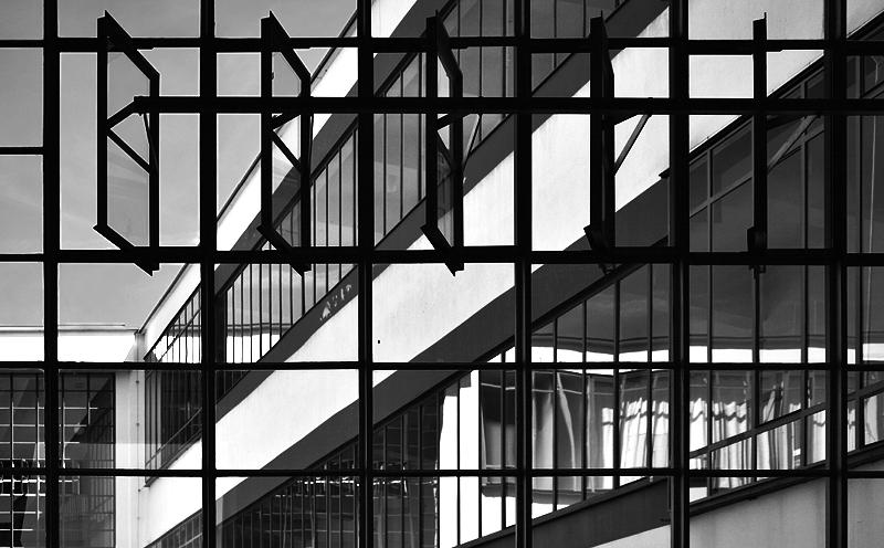 Bauhaus Dessau, Fenster