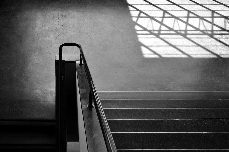 Bauhaus Dessau, Treppenhaus