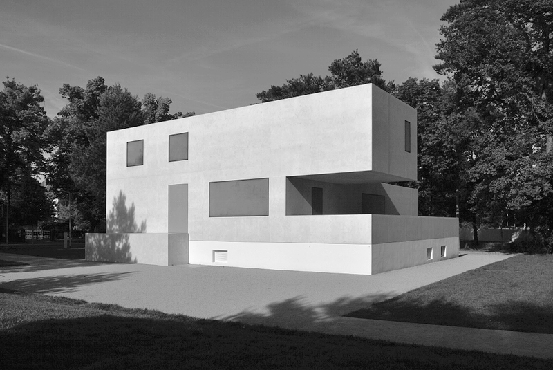 Bauhaus Dessau, neue Meisterhäuser, Bruno Fioretti Marquez, Haus Gropius