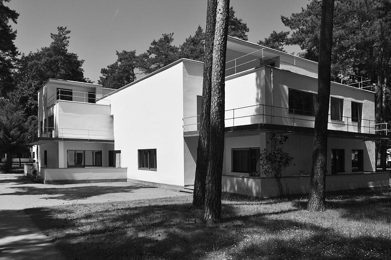 Bauhaus Dessau, Meisterhäuser, Bruno Fioretti Marquez, Haus Muche Schlemmer