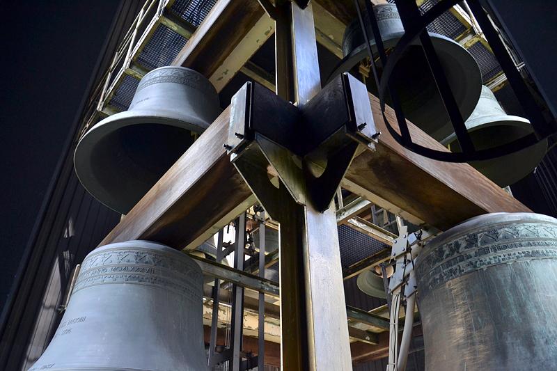 Glocken des Carillons in Berlin Tiergarten