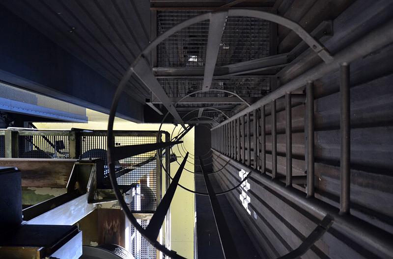 Leiter im Berliner Carillon
