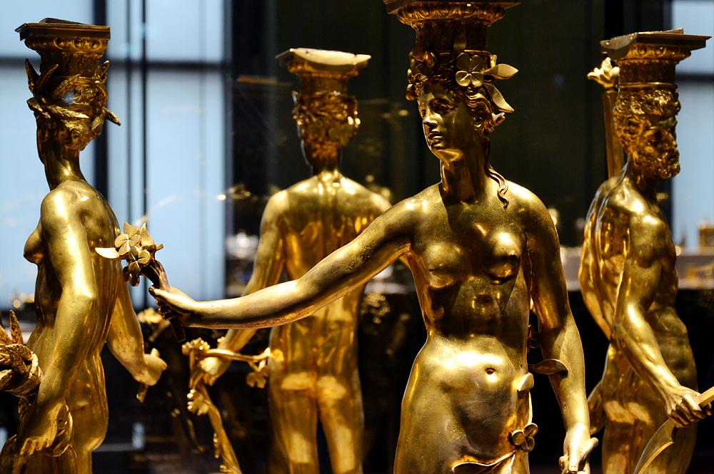 Kunstkammer Wien, Allegorie der vier Jahreszeiten von Johann Gregor van der Schardt