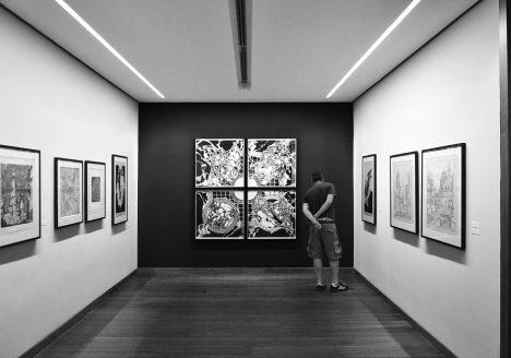 Museum für Architekturzeichnung Berlin, Lebbeus Woods. ON-LINE