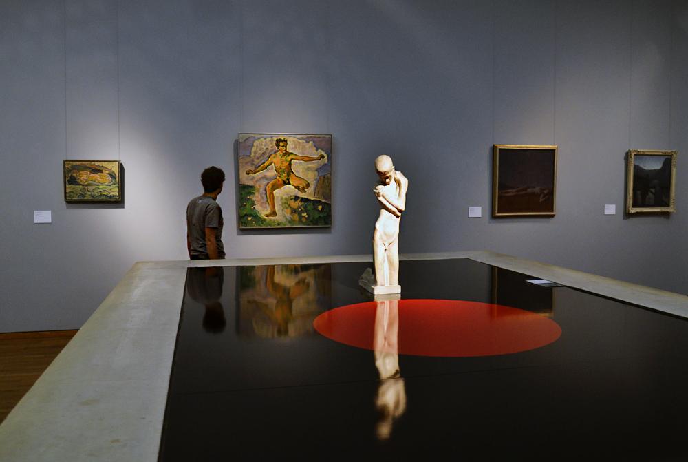 Koloman Moser, Frühling; Koloman Moser, George Minne (Leopold Museum)