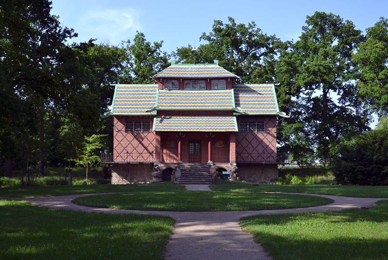 Chinesisches Haus im Park Oranienbaum