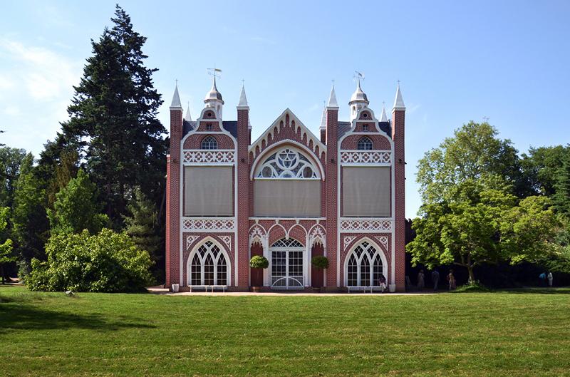 Gotisches Haus im Park Wörlitz