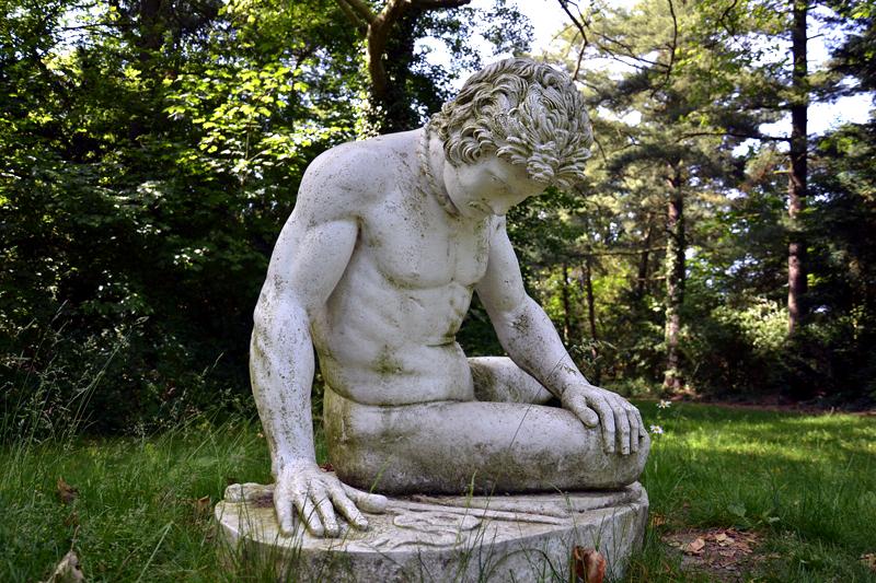 Sterbender Gallier in Neumarks Garten im Park Wörlitz