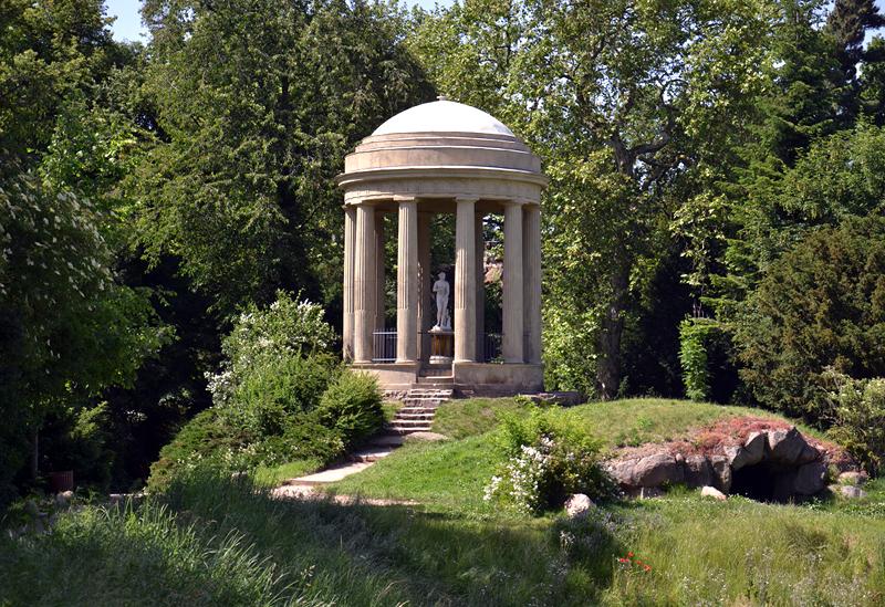 Venustempel im Park Wörlitz