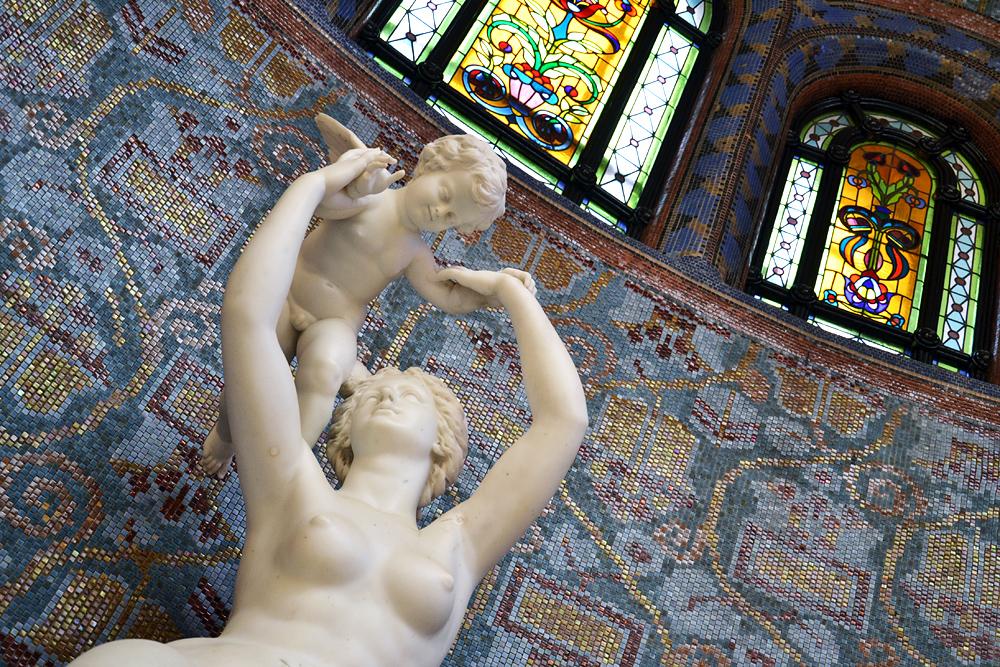 Gellért Szállo és Fürdő, Venus und Cupido im Gellértbad