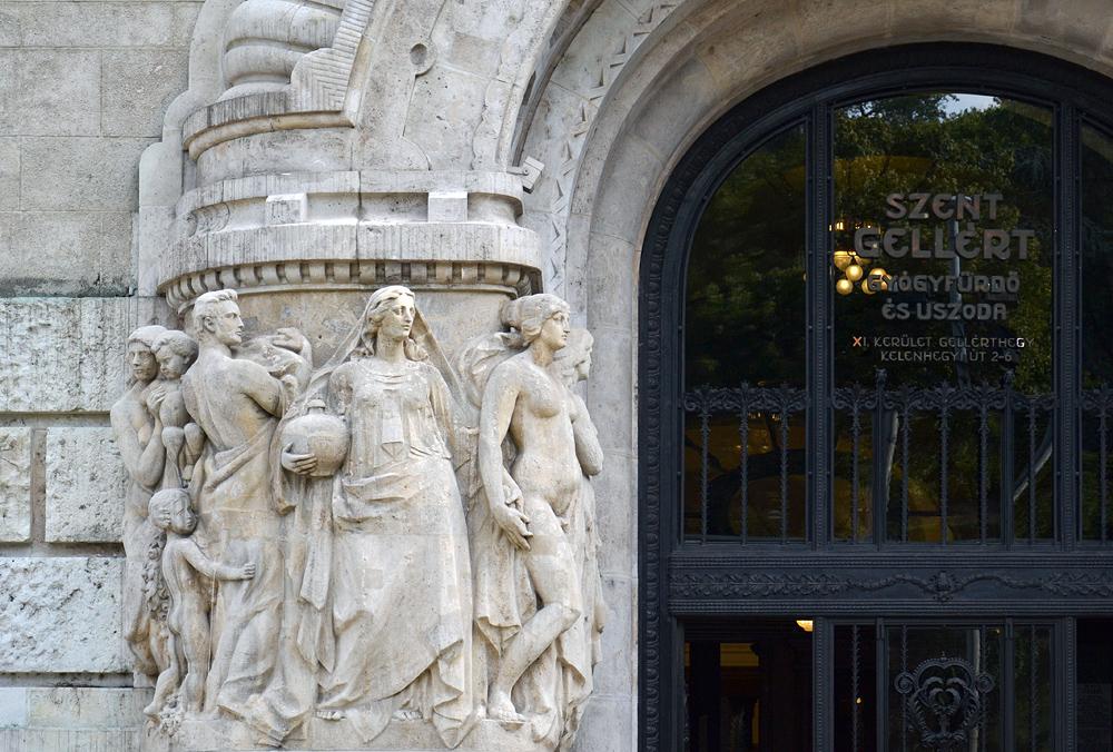 Gellért Szállo és Fürdő Budapest, Eingang