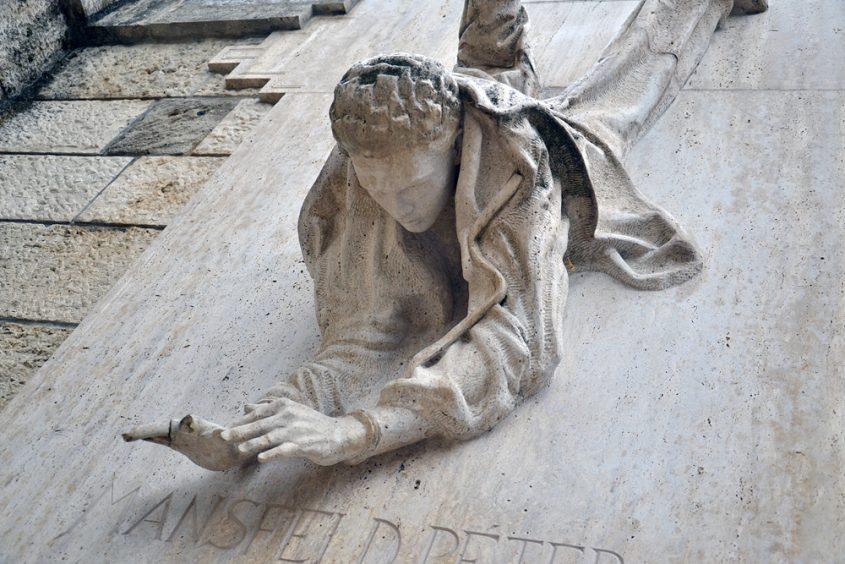 Mansfeld Péter Denkmal, Budapest