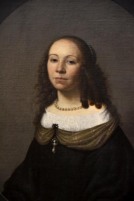 Harmen van Bye, Portrait of a Lady, Szépművészeti Múzeum Budapest