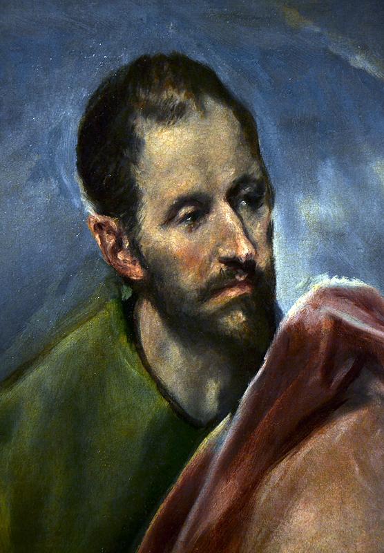 El Greco, St James the less, Szépművészeti Múzeum Budapest