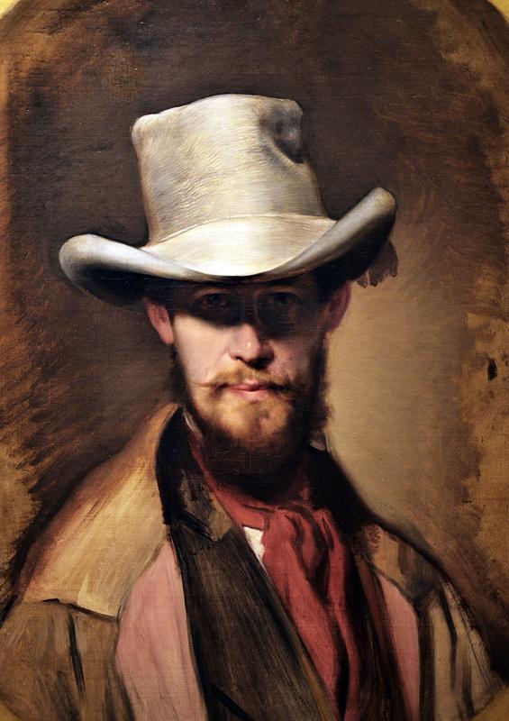 Franz Eybl, Self-Portrait, Szépművészeti Múzeum Budapest