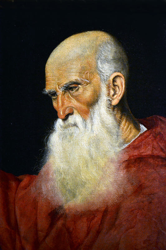 Jacopo Bassano, Portrait of a Cardinal, Szépművészeti Múzeum Budapest