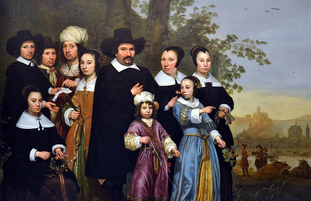 Aelbert Cuyo, Portrait of the Sam Family, Szépművészeti Múzeum Budapest