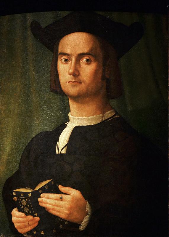 Moretto di Brescia, Portrait of a Man, Szépművészeti Múzeum Budapest