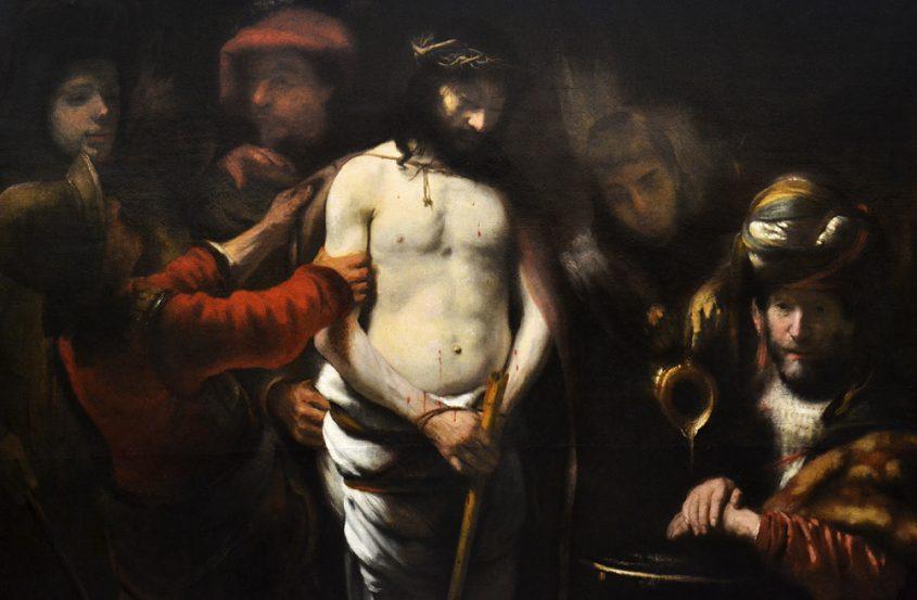 Regnier van Gherwen, Christ an Pontius Pilatus, Szépművészeti Múzeum Budapest