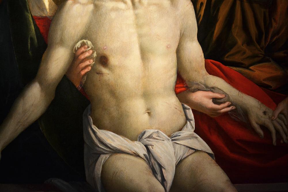Gaudenzio Ferrari, Lamentation of Christ, Szépművészeti Múzeum Budapest