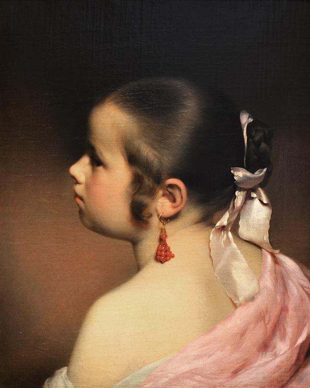 Franz Eybl, Little Girl, Szépművészeti Múzeum Budapest