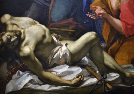 Antonio Balestra, Beweinung Christ, Szépművészeti Múzeum Budapest