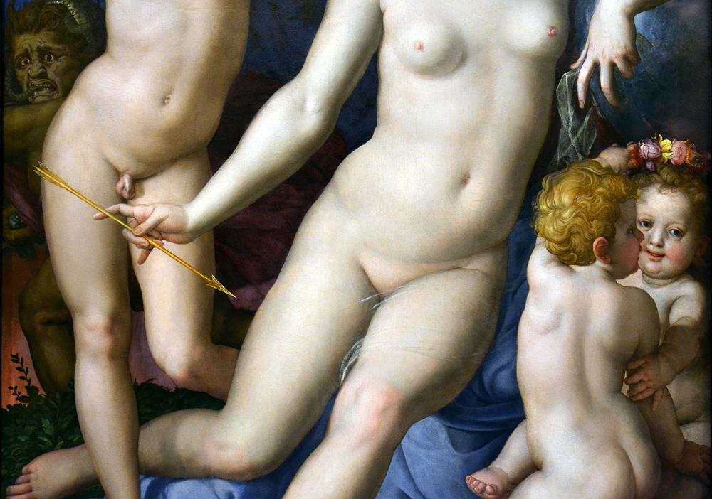 Agnolo Bronzino, Cupid, Venus and Envy, Szépművészeti Múzeum Budapest