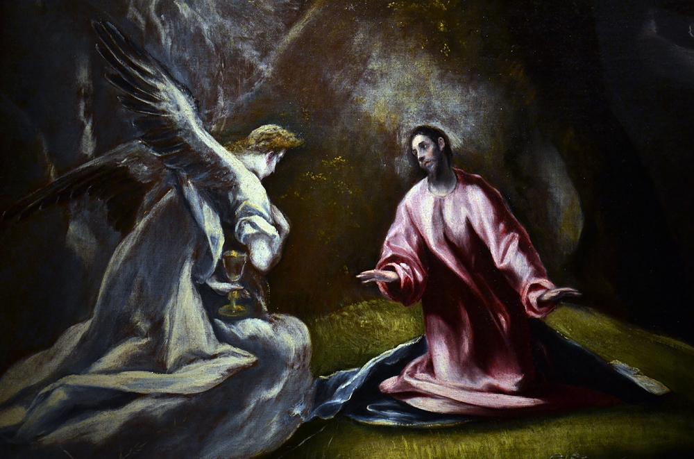 El Greco Agony at the Garden, Szépművészeti Múzeum Budapest