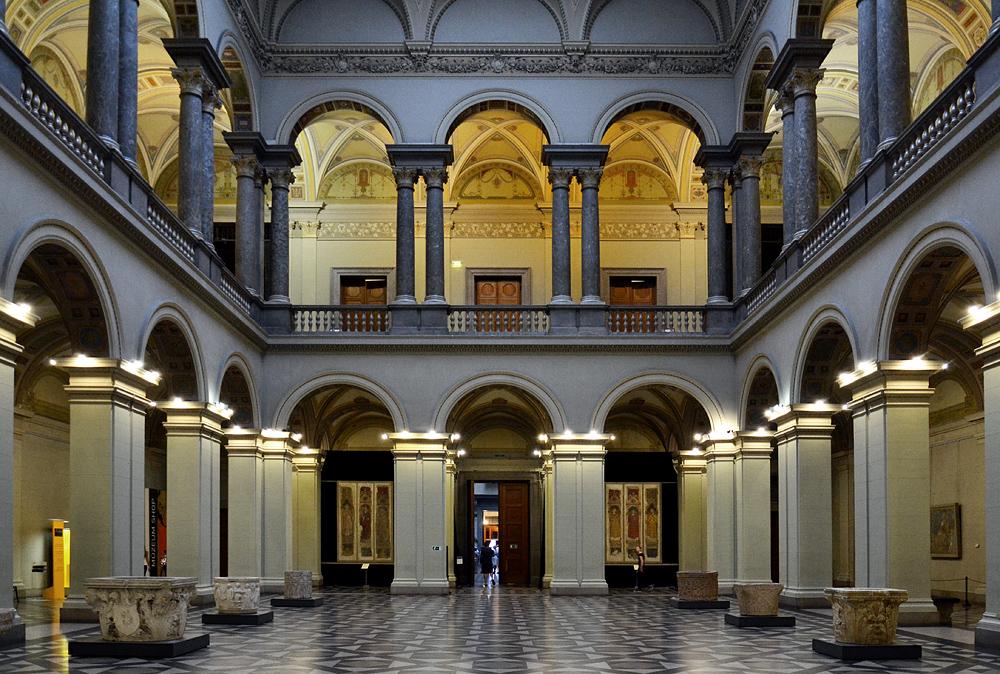 Courtyard, Szépművészeti Múzeum Budapest