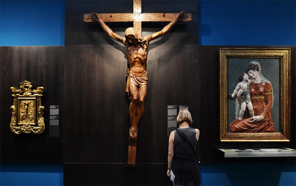 Sculpturensammlung, Jacopo Sansorino, Crucifix, Szépművészeti Múzeum Budapest