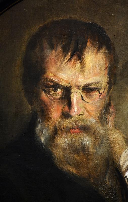 Franz von Lenbach, Selbstporträt, Szépművészeti Múzeum Budapest
