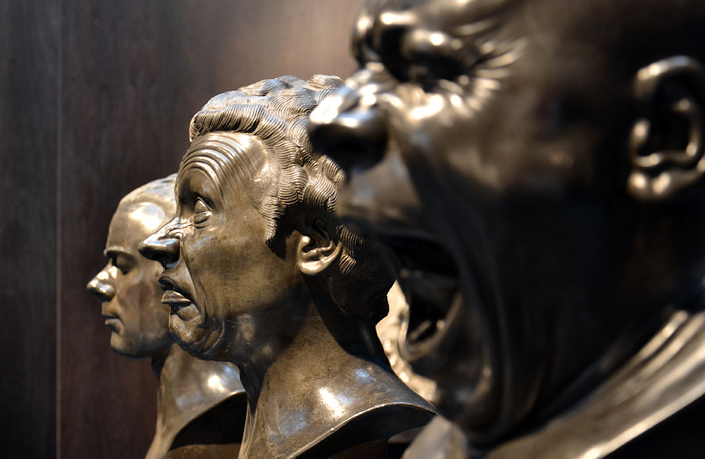 Messerschmidt, Charakter Heads, Szépművészeti Múzeum Budapest
