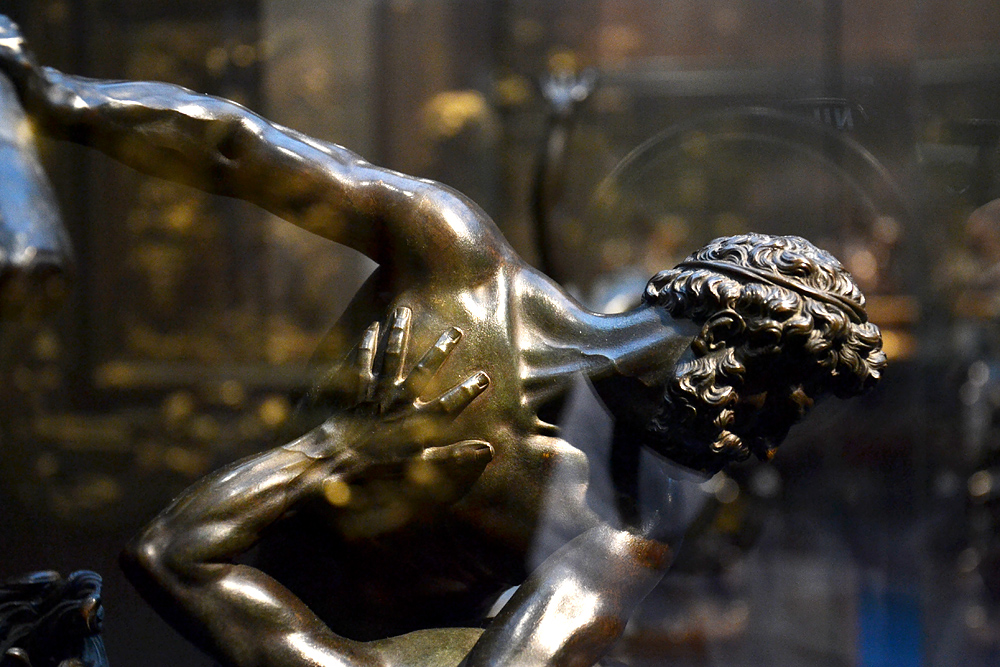 Gioanfrancesco Susini, Nessus und Deianira, Szépművészeti Múzeum Budapest