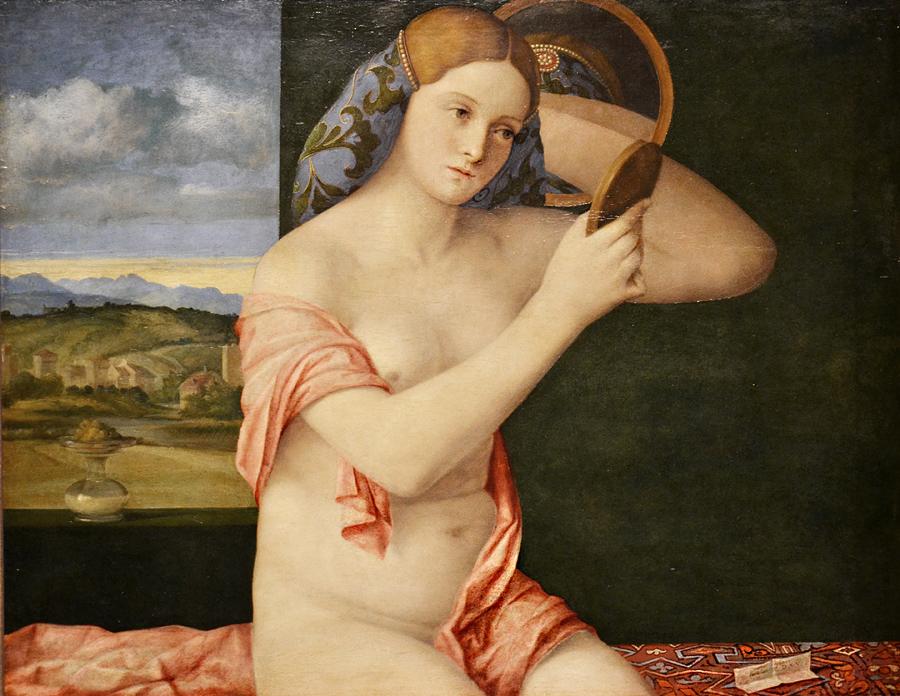 Kunsthistorisches Museum Wien, Giovanni Bellini, Junge Frau bei der Toilette