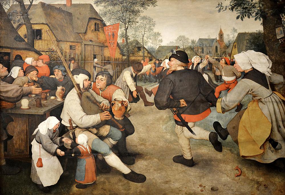 Kunsthistorisches Museum Wien, Pieter Bruegel d.Ä., Bauerntanz