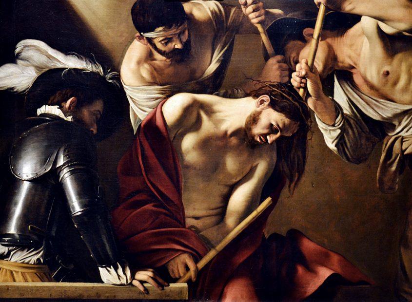 Kunsthistorisches Museum Wien, Caravaggio, Dornenkrönung Christi
