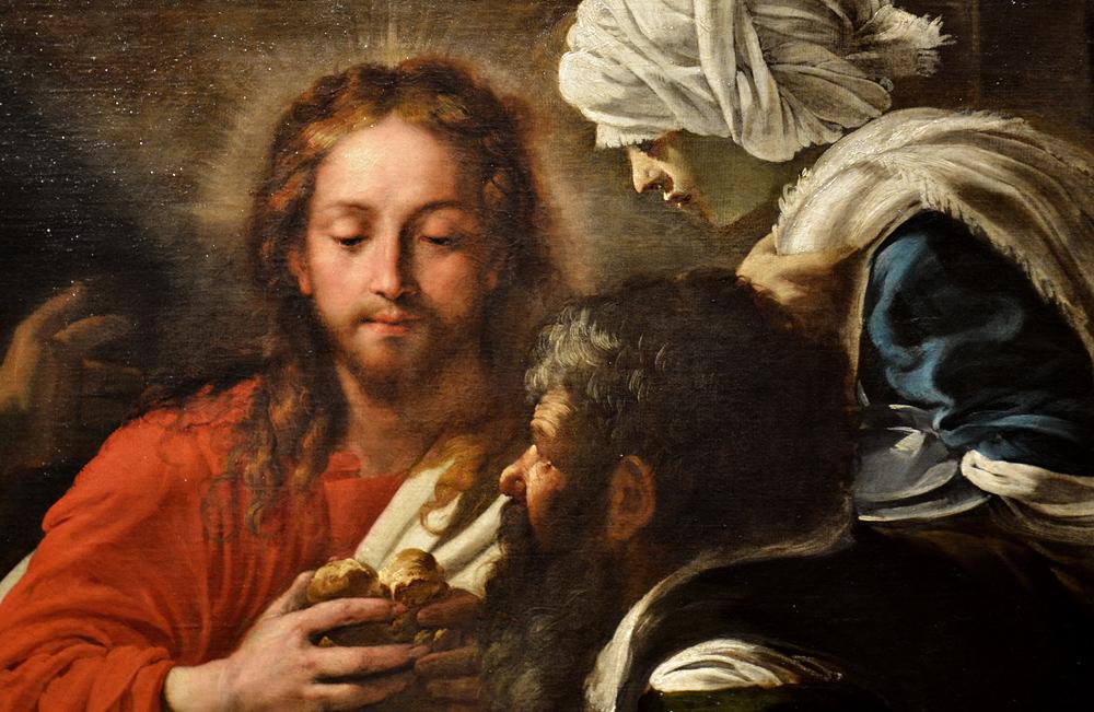 Kunsthistorisches Museum Wien, Caravaggio-Nachfolger, Christus und die Jünger in Emmaus