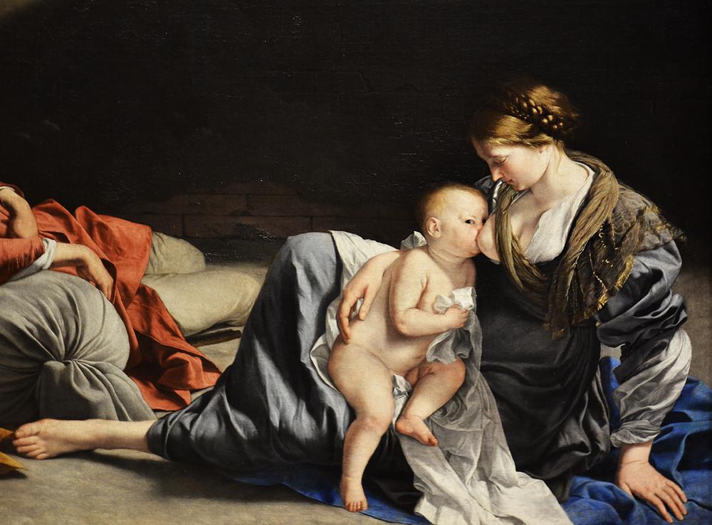 Kunsthistorisches Museum Wien, Orazio Lomi Gentileschi, Ruhe auf der Flucht nach Ägypten