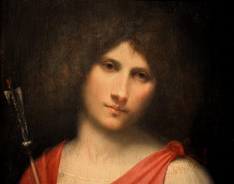 Kunsthistorisches Museum Wien, Giorgione, Knabe mit Pfeil