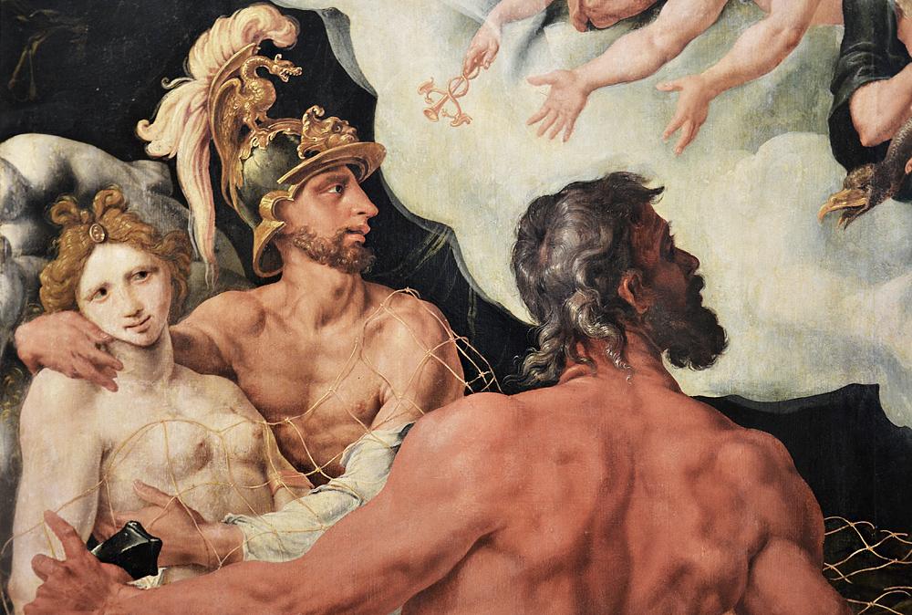 Kunsthistorisches Museum Wien, Maerten van Heemskerck, Vulkan, Venus und Mars