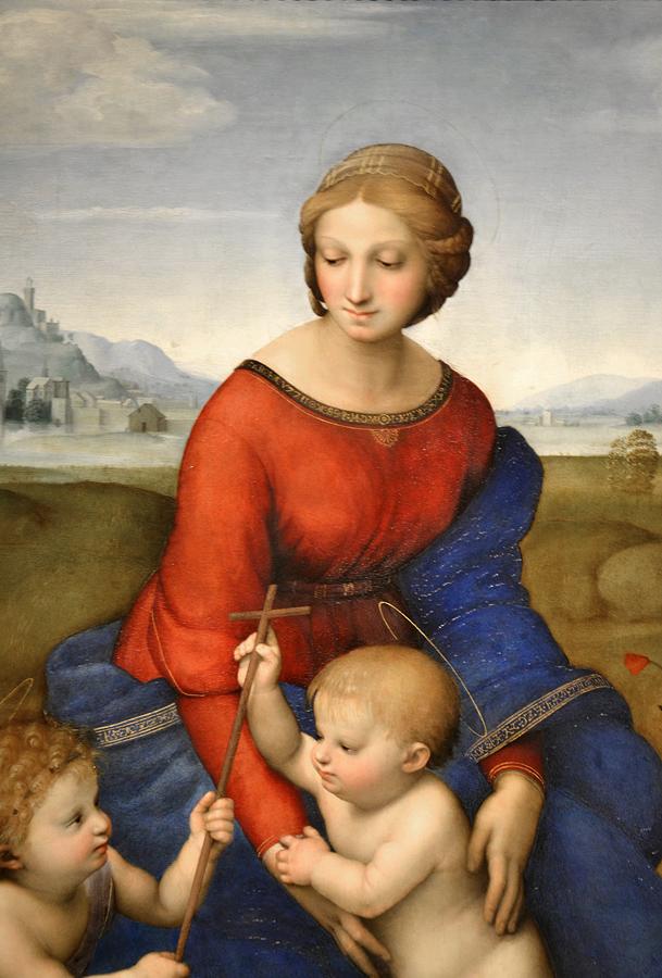 Kunsthistorisches Museum Wien, Raffael, Madonna im Grünen