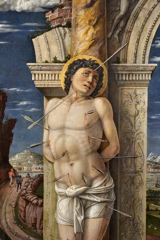 Kunsthistorisches Museum Wien, Andrea Mantegna, Hl. Sebastian