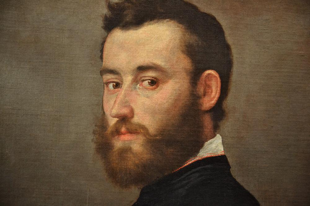 Kunsthistorisches Museum Wien, Giovanni Batista Moroni, Der Bildhauer Alessandro Vittoria
